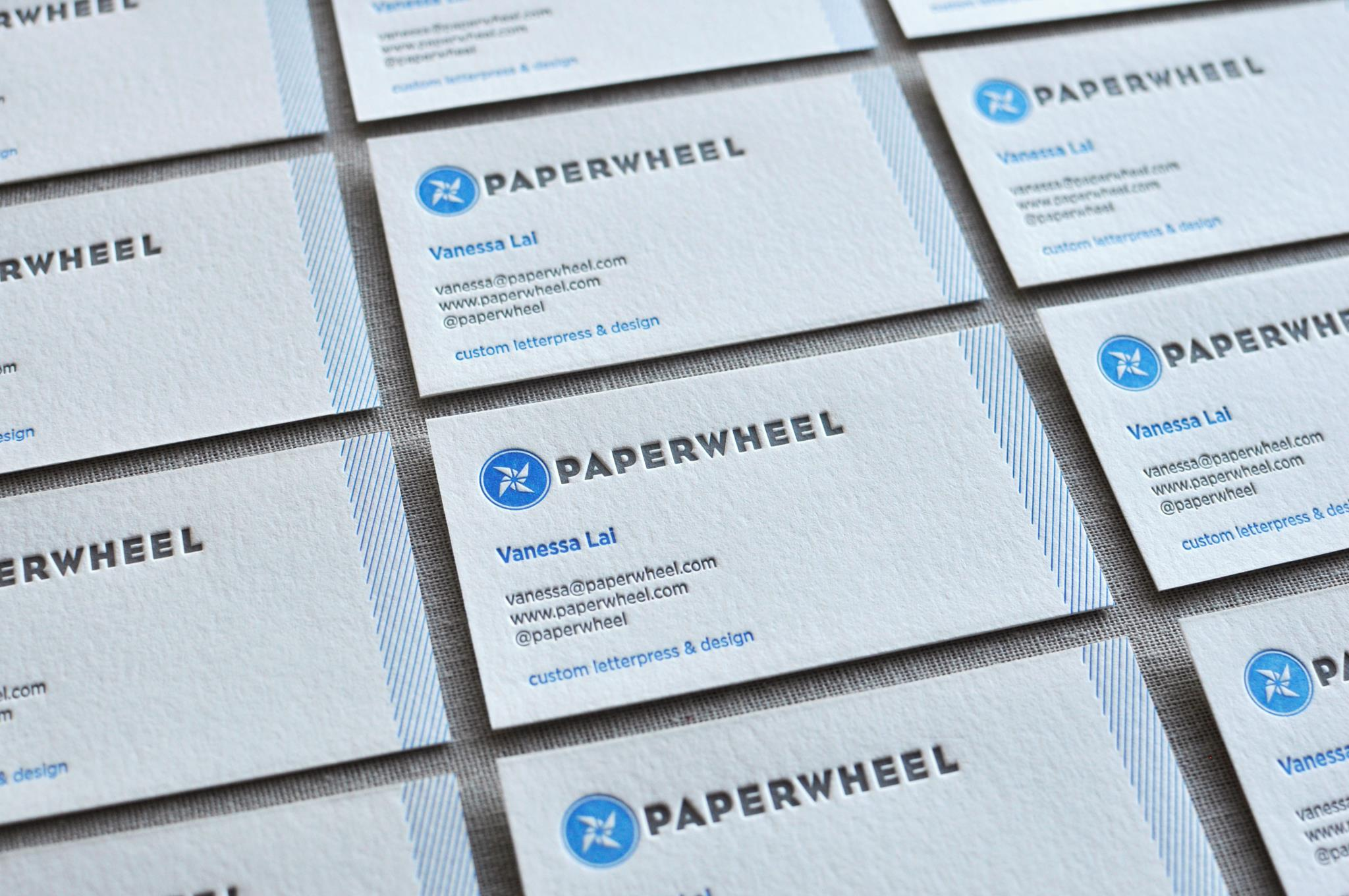 Paperwheel Business Cards
